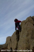 Graham does a bit of bouldering (3)...